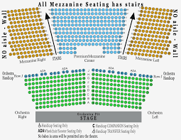 Beau Rivage Seating Chart 50 Qualified Sony Theatre Seating Chart