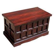 solid wood storage chest trunk box coffee table in recent coffee tables with box storage
