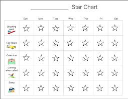 Complete Star Chart Behavior Star Chart A Better Way To Homeschool