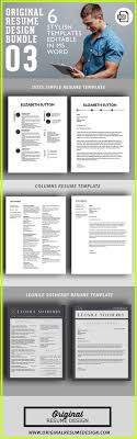Get 3 professional resume designs with matching cover letters