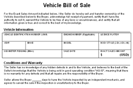 make a bill of sale how to write a contract for selling your car yourmechanic advice
