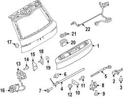 Genuine land rover repair kit nut ran fy108046