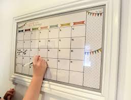 whiteboard for home office. 5 easy diy calendars for home and office whiteboard