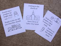 I Belong To The Church Of Jesus Christ Flip Chart A Lively Hope Lds Choristers Free Color Your Own