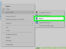 What Is Another Word For Document 3 Ways To Convert A Pdf To A Word Document Wikihow