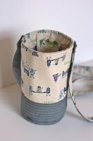 Zakka Style Sew Along - Wrap Up! - i heart linen & Week 14 - Water Bottle Holder with One Shabby Chick · image from  oneshabbychick.typepad.com Adamdwight.com