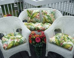 Indoor Outdoor X LARGE DELUXE Tufted Cushion Set for Wicker