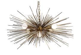 urchin sputnik style chandelier