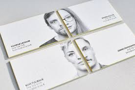 Letter Press Business Card Letterpress Business Card With Portrait Yes We Have High