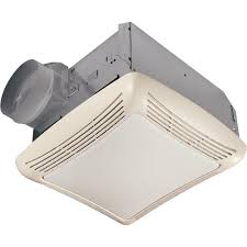 Changing Light Bulb In Broan Fan Nutone 50 Cfm Ceiling Bathroom Exhaust Fan With Light763rln