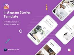 Free Instagram Stories Psd Template By Vasanth