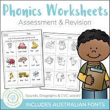 Phonics videos with phonogram sounds. Phonics Worksheets Assessment And Revision Little Lifelong Learners