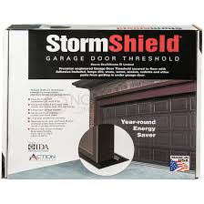 16 ft stormshield garage door threshold weather seal kit 10 ft 16 ft