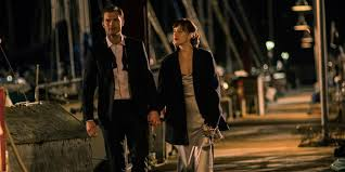 fifty shades darker gets r tic see christian propose to ana in  dakota johnson and jamie dornan in fifty shades darker
