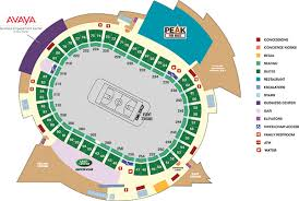 Pepsi Center Avs Seating Chart Seating Map See The Pepsi Center Seating Chart Maps