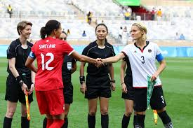 essay on soccer game continuous writing spm essay the philly  rio olympics defeats in photos captains christine sinclair and saskia bartusiak shake hands before the semi descriptive essay soccer game