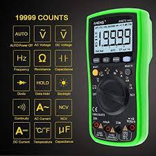Multimeter, 4EVERHOPE AN870 <b>Digital</b> Multi Tester True RMS ...