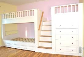 bed with built in dresser built kids bunk beds dresser area home the central staircase with bed with built in dresser