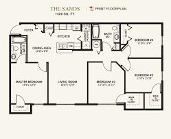 Charming ... 4 Bedroom 2 Bath Floor Plans Pleasant 10 Bedroom 1 Bath And 2 Bedroom 2  Bath ...