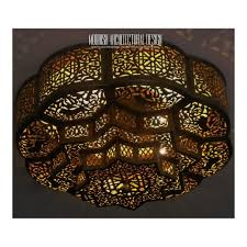 Moroccan Light Fixture Name Moroccan Flush Mount Ceiling Lights Exotic Flush Ceiling Lamps