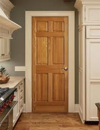 Wood Front Doors With White Trim white trim wood door example of a