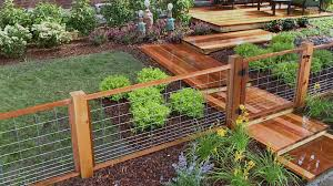 lovely ideas installing wood fence panels install a hog wire fence diy