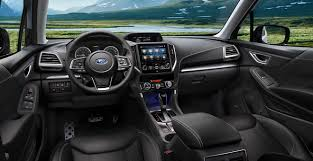 All New 2019 Subaru Forester Interior Features And Seating
