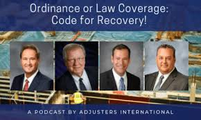 ordinance or law coverage code for recovery thumbnail image