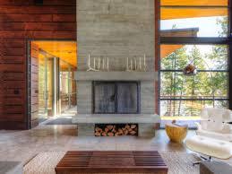 Modern cabin interior design Log Cabin 10 Ways To Mix Modern Details With Rustic Style Culturemap Austin 10 Ways To Mix Modern Details With Rustic Style Culturemap Austin