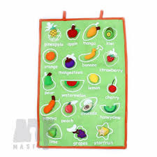 Fruit Chart For Kid Play Based Fruit Chart Back To School Wall Chart Teacher Supplies Play Based Approach Learning Material