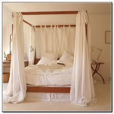 Four Poster Beds With Curtains 4 poster bed with curtains - beds : home  design ideas
