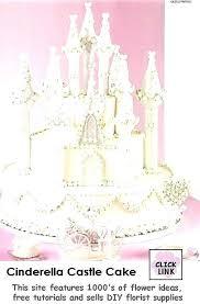 Cinderella Castle Cake Redbanktweed