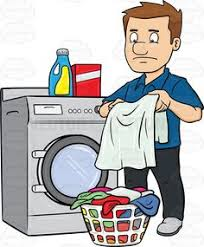 black man washing clothes. Perfect Black A Black Man Taking Out His Washed Linens From The Washer In 2018  Vector  Illustrations Pinterest Men Pants With Washing Clothes