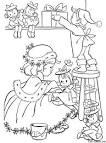 Раскраски с рождеством для детей