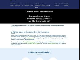 learner driver car insurance quotes compare the market