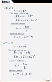 linear regression formula statistics formula to calculate linear regression