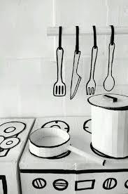 ダンボールで手作り子供キッチン海外アイデア集