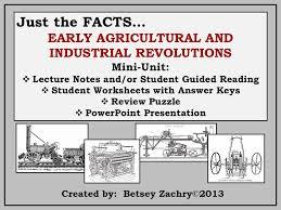 industrial revolution agricultural revolution mini unit industrial revolution agricultural revolution mini unit