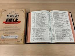 Newberry Reference Bible Single Column Edition