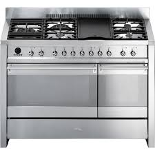 kitchenaid 48 inch range. smeg opera 48-inch 5-burner stainless steel dual fuel range - a3xu6 kitchenaid 48 inch