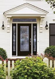 best front doorsBest Front Doors for Every Home Style Masonite  A Pop of Pretty