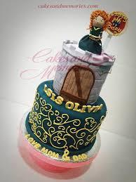 Disneys Brave Fondant Cake Cakes And Memories