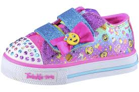 Skechers Toddler Light Up Shoes Australia Details About Skechers Toddler Girls Twinkle Toes Giggle Days Sneakers Shoes