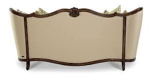 aico lavelle melange wood trim tufted sofa group 1 opt 1 54815 bisqu 34