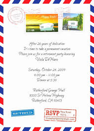 Invitation Templates For Retirement Party Save Retirement Luncheon