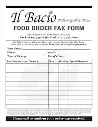 Food Order Form 24 Food Order Form Templates Free Samples Examples Formats Download 1