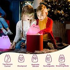 CUTE KITTY NIGHT LIGHT, GoLine Gifts for Women ... - Amazon.com