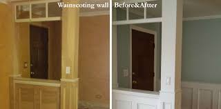 office wainscoting ideas. Engaging Wainscoting Pictures And Stunning White Dazzling Brown Door Mirror Office Ideas R
