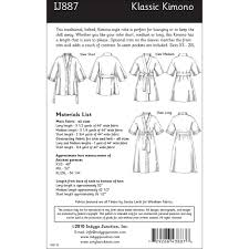 Kimono Robe Pattern Adorable Klassic Kimono Robe Sewing Pattern From Indygo Junction IndygoJunction