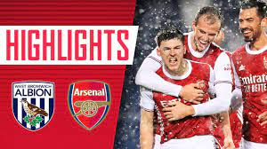 Vs west ham (h) 3 may 2021 premier. Highlights Tierney Saka And Laca All Find The Net West Brom 0 4 Arsenal Premier League Youtube